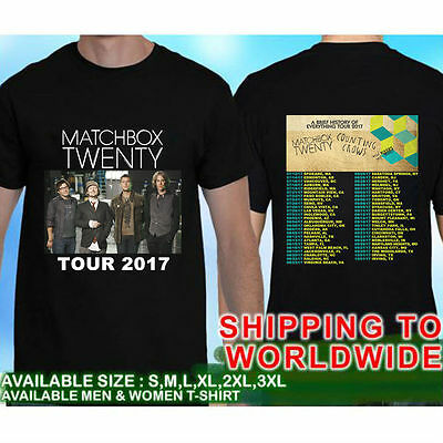 Matchbox Twenty & Counting Crows Team Up Tour #0096k T-Shirt Tees Size S-5XL