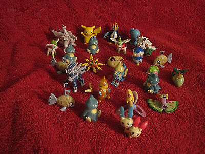 Mini Pokemon-Figur zurAuswahl(to choose)/2-3cm/Chou-Get-Figure/Pokedex/gebraucht