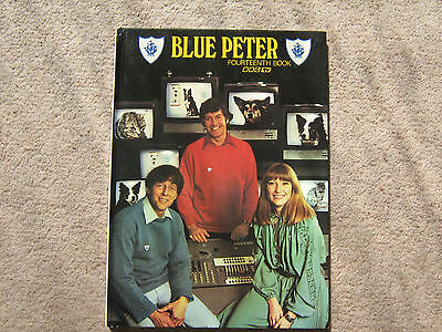 Tv  Blue Peter Book  Fourteen  1977  Annual ( Excellent)