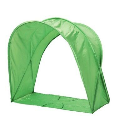 KEA Sufflett Childrens Over Bed Tent Canopy - For Kids Single Bed Pink or Green