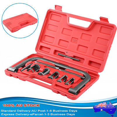 NEW 10PCS Car Petrol Engines Valve Spring Compressor Tool Kit with Carrying Case