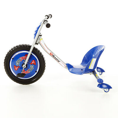 Razor Rip Rider caster trike 360 in blue - Riprider Stock ready for Spring