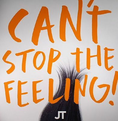 "TIMBERLAKE, Justin - Can't Stop The Feeling! - Vinyl (orange vinyl 12"")"