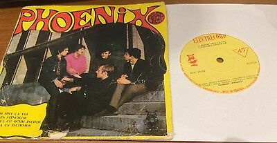 PHOENIX top rare Romania '69 PSYCH Beat 45  -  More great 45s in my shop !
