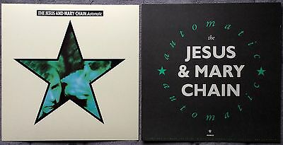 The Jesus And Mary Chain Automatic RARE promo 12 x 12 poster flat '89