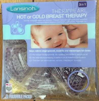 Lansinoh TheraPearl 3-in-1 Hot or Cold Breast Therapy - Best Price around