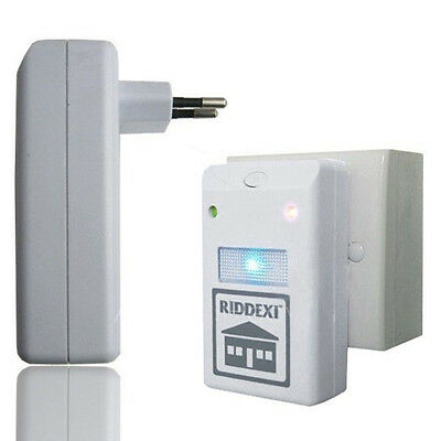 Ultrasonic Pest Control Repeller Plug In Rodents Ants Mice Rodent Rat  Fleas Bug
