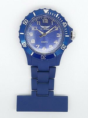 nurse beauticians fob watch Prince NY London dark blue F99