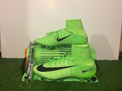 Aleksander Kolorov Player Issued Nike Mercurial Superfly SG Football Boots MCFC