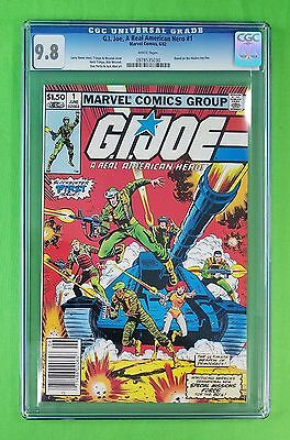 1982 G.i. Joe #1 (A Real American Hero) White Pages Cgc Graded 9.8 Nm/mint!