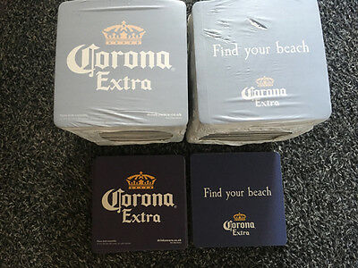 CORONA Cardboard Drip Beer Mats x 100 - New and Wrapped
