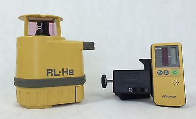 Topcon RL-HB Rotating Laser Level with Laser Receiver