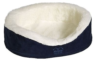 Midwest Quiet Time e'Sensuals Orthopedic Nesting Bed 36 Diameter (Navy) Navy