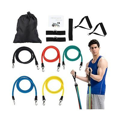 OUTAD Resistance Bands Set Door Anchor Attachment For Exercise Bands-Ankle St...