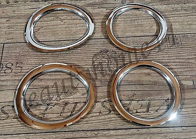 4 pcs. Fog Lights O-Rings For SCANIA R Made ​​Of Polished Stainless Steel