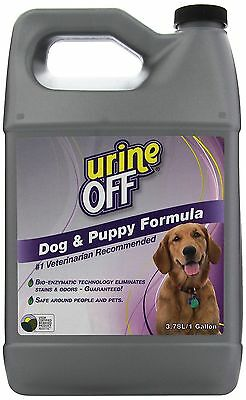 Urine Off PT6009 Odor and Stain Remover Dog Formula 1 Gallon