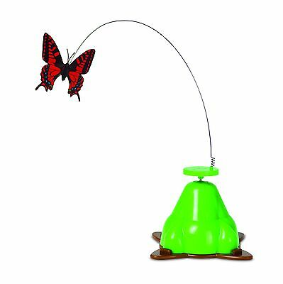 Pet Zone Fly By Spinner Cat Toy Multi