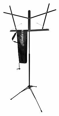 Hamilton Advanced KB200CB Automatic Clutch Folding Music Stand with Carrying ...