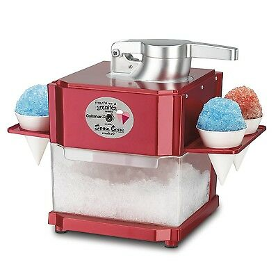 Cuisinart SCM-100C Snow Cone Maker Red