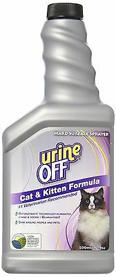 Urine Off Sprayer for Cats 16.9-Ounce