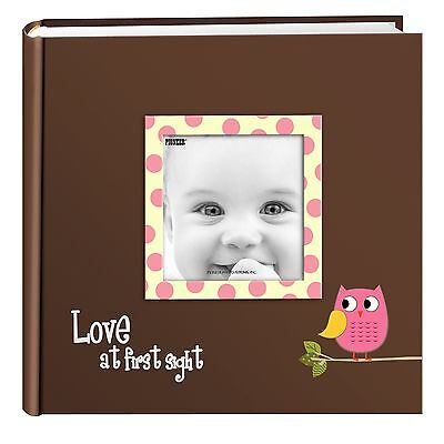 Pioneer Photo Albums EV-246FB/O Baby Owl Printed Designer Frame Cover Photo A...