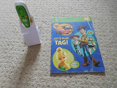 leap frog Tag Pen Reading System In green