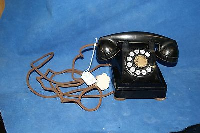 Vintage 1940's Western Electric F1 W Hand set  302 Rotary Phone