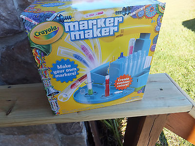 New in Box Crayola Marker Maker Style 74-7054 Kids Craft Making Set