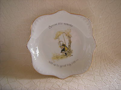 Vintage Holly Hobbie Collectors Bowl Special little moments..