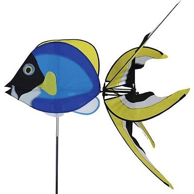 Moulin à vent Poisson chirurgien Blue fish wind spinner Blaufisch Windspiel