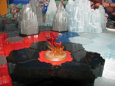 New Fire Elemental Wave 11 D1 Champions of the Forgotten Realms Heroscape minis