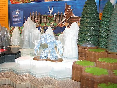 New Greater Ice Elemental Wave 11 D1 Champions Forgotten Realms Heroscape glaun