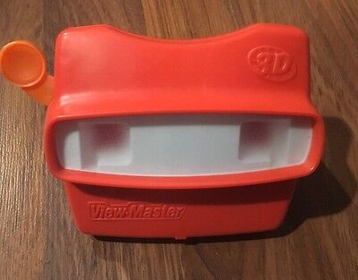 Vintage 1998 Fisher Price View-Master Viewer By Image 3D Red Color