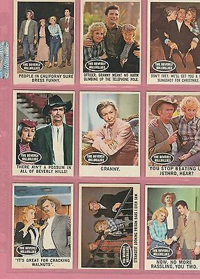 1963 Beverly Hillbillies Complete(66)Set From 1963
