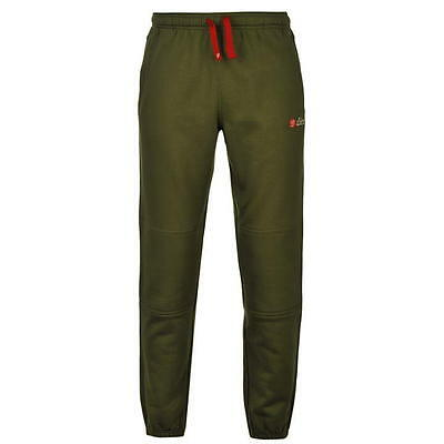 Diem AT Joggers All Terrain Fleece Trousers Fishing Warm Green Size Small