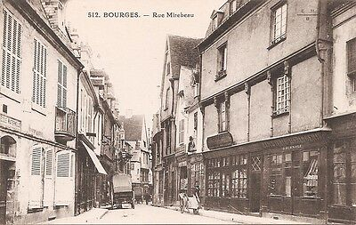 CPA - Bourges - Rue Mirebeau