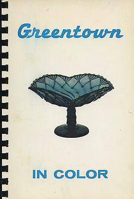 Greentown Glass Types Forms - Chocolate Holly Cactus Etc. / Scarce Book