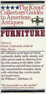 Antique American Furniture - Chests Cupboards Desks Etc. / Scarce Book
