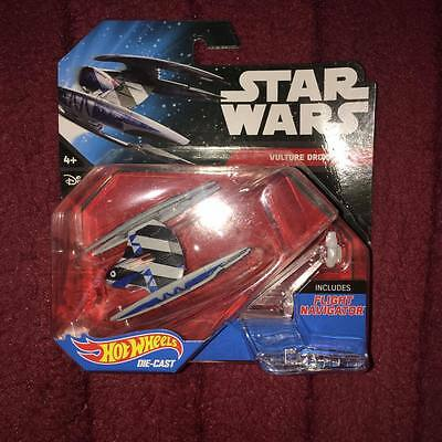 Star Wars Hot Wheels vulture droid new and sealed