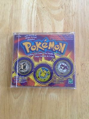 Pokemon Set Of 3 Coins In Case