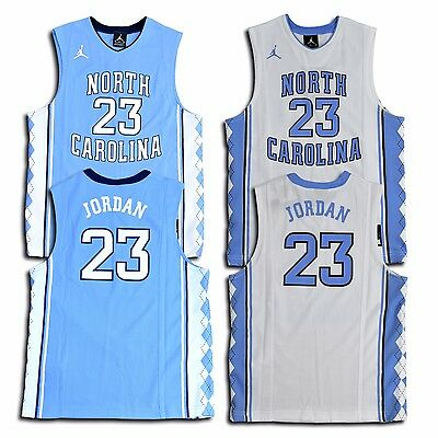 4bec0694692 Nike Jordan Youth North Carolina UNC Tar Heels Michael Jordan #23 Replica  Jersey