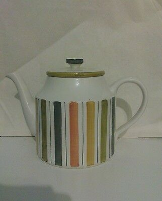 Retro Midwinter Mexicana Rare Teapot Designed By Jessie Tate 1962 Fine Tableware