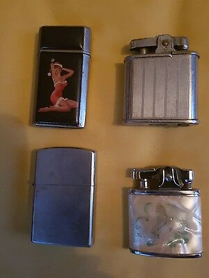 vintage lighters joblot