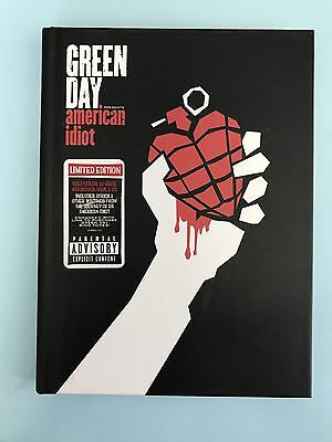 Green Day 'American Idiot' Limited Edition CD + Book