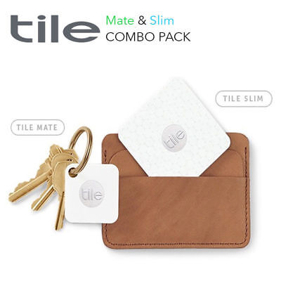 Tile Mate and Tile Slim Bluetooth Tracker Combo Pack Gen 3 - AU Stock + Free Gif