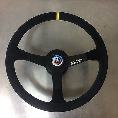 Custom Sparco Steering Wheel for BMW 2002 / 2002tii