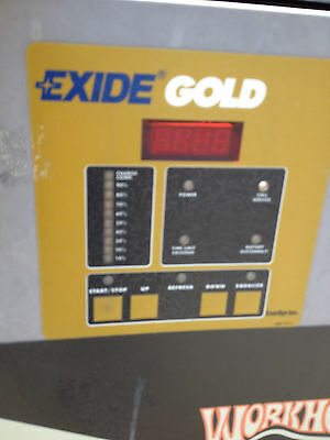 Exide Ironclad Gold Industrial Battery Charger  Wg3-18-1200 Workhog Enersy (R)