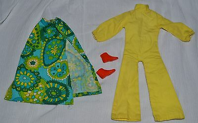 """Palitoy Action Girl Uneeda Dollikin 11.5"""" Doll Sunflower Fits Sindy & Tressy 70S"""