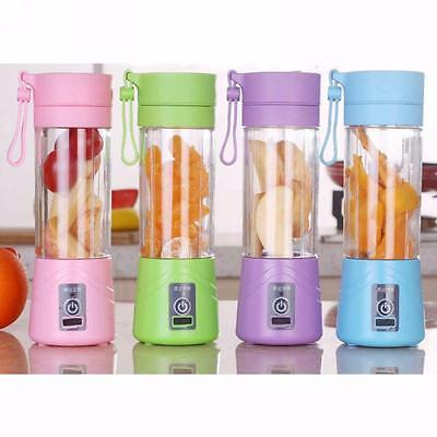 380ml USB Electric Fruit Juicer Handheld Smoothie Maker Blender Bottle Juice Cup