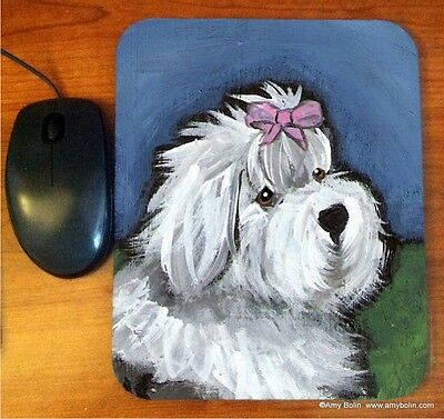 MOUSE PAD OES OLD ENGLISH SHEEPDOG ALL GUSSIED UP  BY  Amy Bolin SUMMER